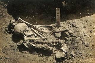 У берегов Японии нашли тело рыбака, которого более 3 тыс. лет назад зверски растерзала акула-людоед