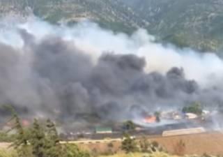 Аномальная жара в Канаде сожгла целую деревню
