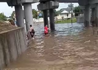 Опубликовано видео наводнений в Беларуси