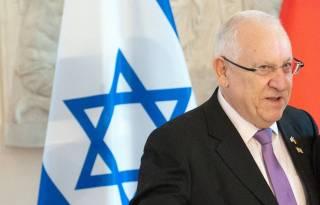 Опубликовано весьма странное фото президента Израиля