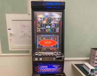 В Офисе президента заметили игровой автомат, установленный с нарушением правил