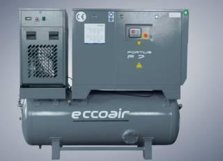 Винтовые и поршневые компрессоры Eccoair: характеристики оборудования