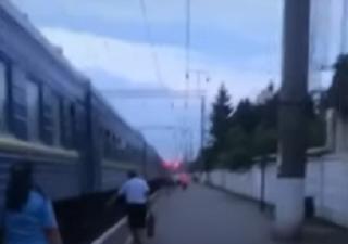 В поезде Одесса-Ковель горел вагон