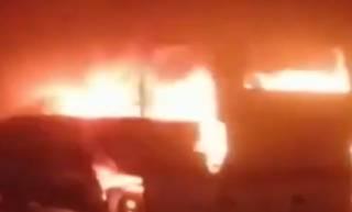 В Италии водитель автобуса спас из огня десятки детей