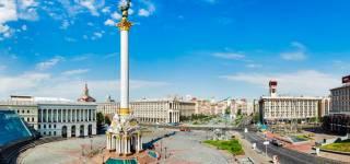 В Киеве на Майдане произошел конфликт из-за флага России