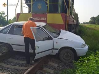 Во Львовской области поезд смял авто – погибла женщина
