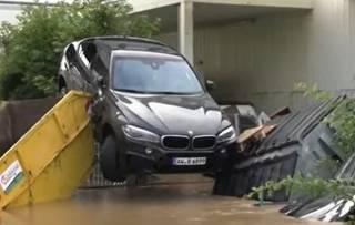 Аномальные дожди в Германии: без вести пропали десятки людей