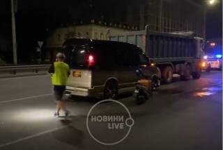 Известная украинская телеведущая попала в ДТП в Киеве