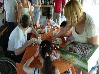 На Закарпатье УПЦ организовала праздник для детей с инвалидностью
