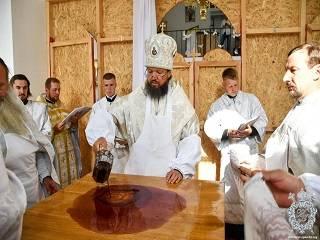 На Житомирщине освятили новый храм УПЦ