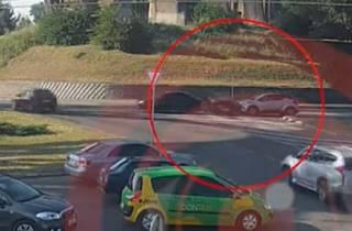 Опубликовано видео ДТП в Днепре, в котором погибли две женщины
