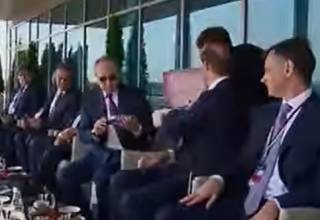 Розовый чемоданчик: странное мороженое для Путина озадачило соцсети