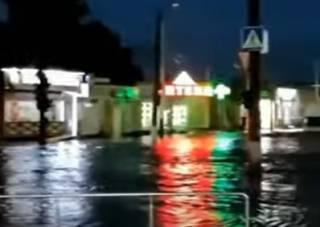 Сильнейший ливень затопил Кропивницкий