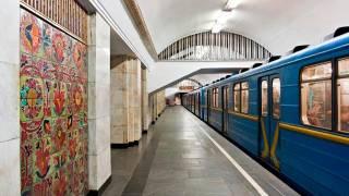 На центральной станции метро в Киеве произошла драка с применением слезоточивого газа