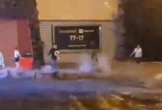 Опубликовано видео аномального ливня, который затопил Одессу
