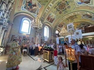 На Закарпатье освятили храм УПЦ