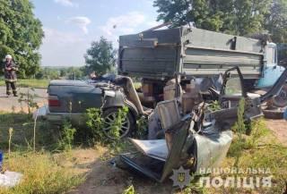 ДТП в Винницкой области: погибли мужчина и его сын