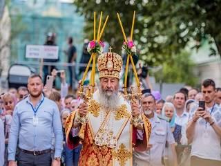 Митрополит Онуфрий рассказал, как стать достойными наследниками князя Владимира