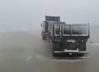 В России начался снегопад, но никто не удивился