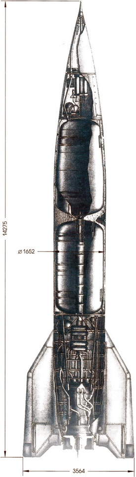 Схема ракеты Р-1