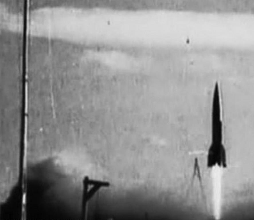 Пуск ракеты Р-1