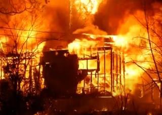 В США сгорел целый город