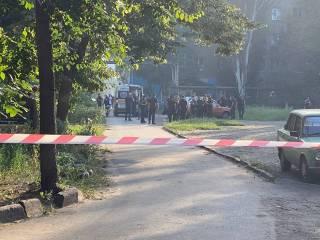 У меткомбината в Кривом Роге ветеран АТО подорвал себя гранатой вместе с полицейскими