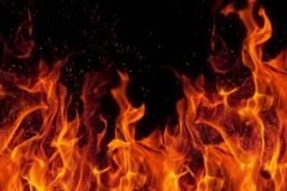 На Запорожье женщина практически сожгла себя заживо