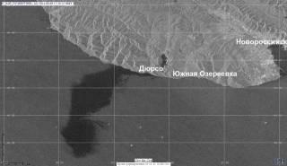 Огромное пятно нефти из России потянулось в сторону Крыма