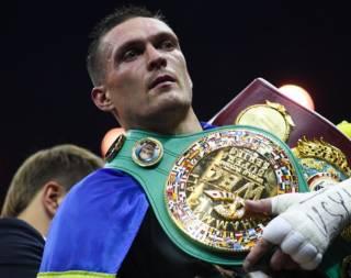 Промоутер рассказал о преимуществах украинского боксера Усика