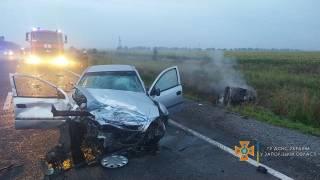 ДТП в Запорожской области: погибли пять человек