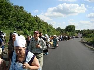 Из Каменец-Подольского 40 тысяч верующих УПЦ за неделю пройдут 250 км в Почаевскую лавру