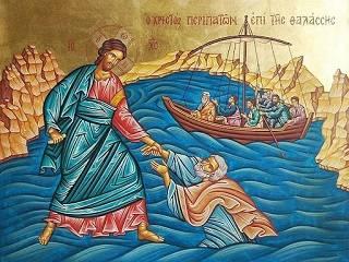 Митрополит УПЦ рассказал о евангельском чуде хождения Господа по воде