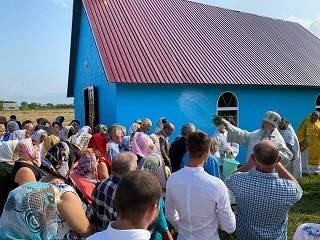 На Закарпатье освящен новый храм УПЦ