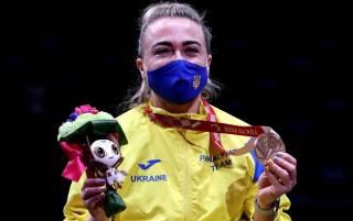 Украинские паралимпийцы уже взяли восемь медалей. Одна из них — золотая
