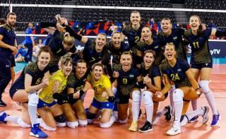 Женская сборная Украины по волейболу обыграла Румынию на Евро-2021