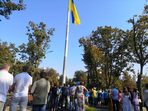 Флагшток в Харькове