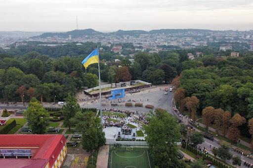 Флагшток во Львове
