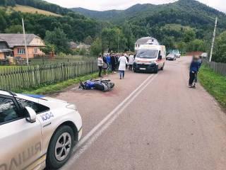 ДТП в Ивано-Франковской области: пострадали подростки
