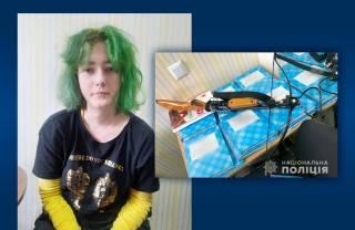 Девушка объяснила, зачем устроила стрельбу из арбалета в полтавской школе