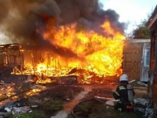 На популярном украинском курорте горела база отдыха