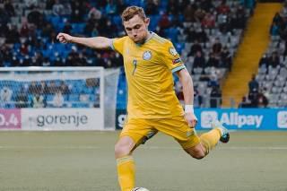 Игрок сборной Казахстана, забивший два гола в ворота Украины, попался на допинге