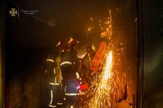 Ночью в Киеве произошел смертельный пожар – погибла женщина