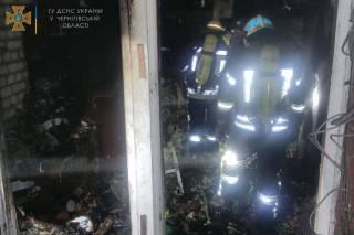 В Чернигове горело общежитие лицея