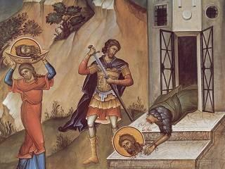 Сегодня верующие УПЦ вспоминают Усекновение главы Иоанна Предтечи