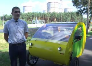 В Украине появился крайне необычный электрокар