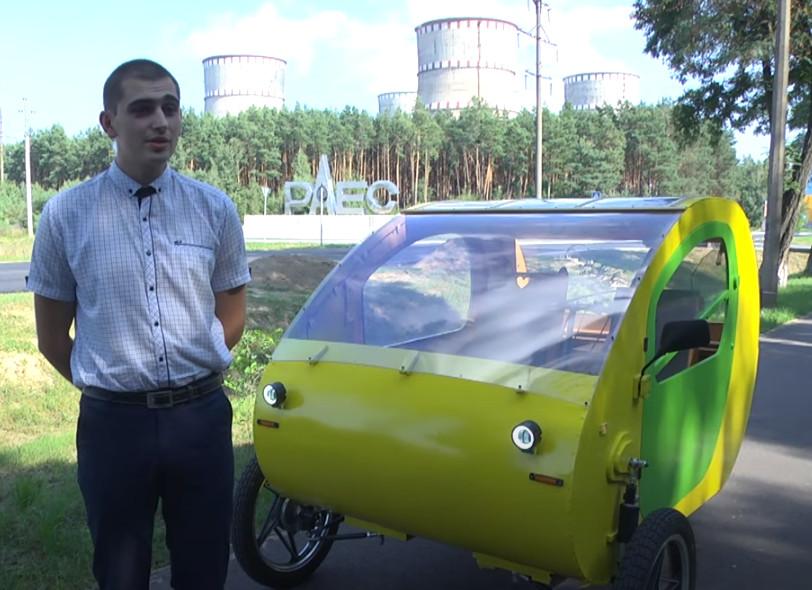 Электрокар МЭС-01, разработанный инженером Ровенской АЭС
