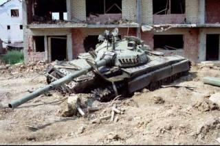 Танки в ходе гражданской войны в Югославии (1991-1995 гг.). Часть 2
