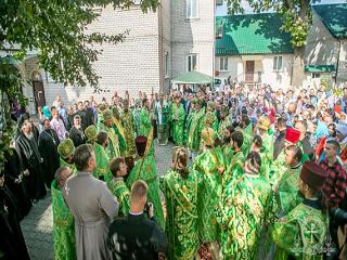 На Житомирщине в Городницком монастыре УПЦ освятили новый храм