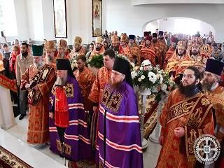 На Волыни освящен храм УПЦ, построенный вместо захваченного ПЦУ